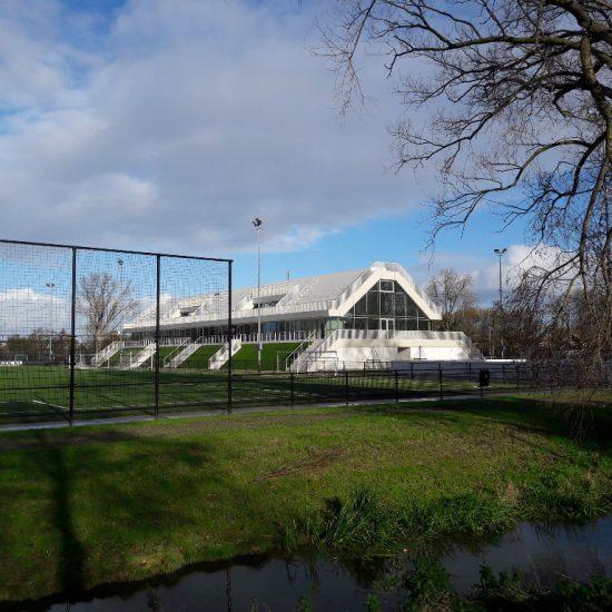 Alarminstallatie sportcomplex Varkenoord